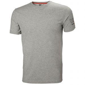 T-Shirt Helly Hansen Kensington T-Shirt grey melange 79246