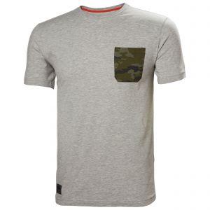 T-Shirt Helly Hansen Kensington T-Shirt grijs camo 79246