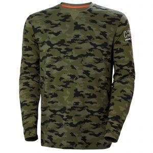 T-Shirt Helly Hansen Kensington Longsleeve camo 79242