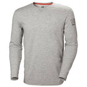 T-Shirt Helly Hansen Kensington Longsleeve grijs 79242