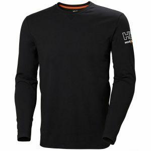 T-Shirt Helly Hansen Kensington Longsleeve zwart 79242