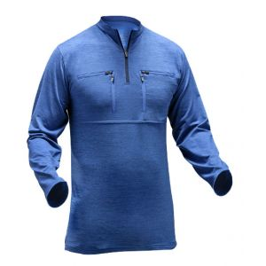 T-Shirt met lange mouwen Pfanner Skin-Dry Thermo Zipp-2-Zipp