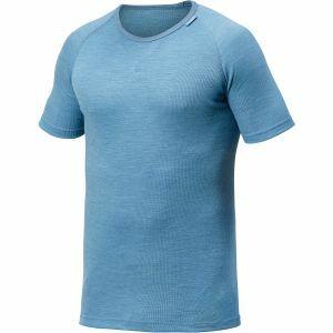T-Shirt Woolpower Tee Lite lichtblauw
