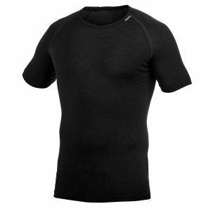 T-Shirt Woolpower Tee Lite zwart