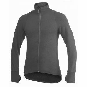 Trui Woolpower Full Zip Jacket 400 grijs