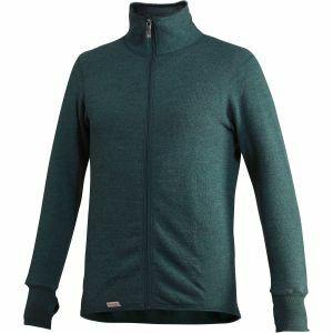 Trui Woolpower Full Zip Jacket 400 woudgroen