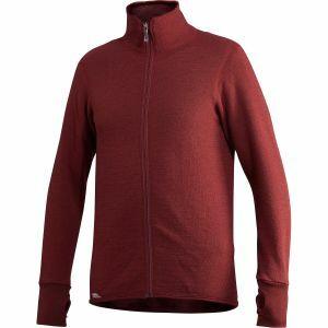Trui Woolpower Full Zip Jacket 400 roestkleur