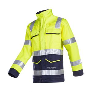 Veste avec protection ARC Sioen Millau jaune