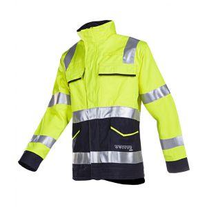Vest met ARC bescherming Sioen Reggio geel