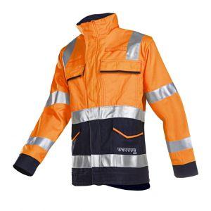 Vest met ARC bescherming Sioen Larrau oranje