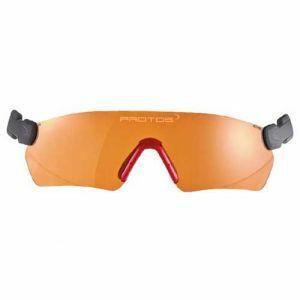 Veiligheidsbril Protos Integral oranje