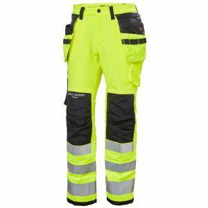 Pantalon Helly Hansen Luna Hi Vis Construction Pant CL 2 jaune 77498